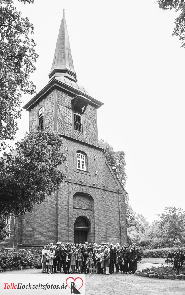 Die Kirche in Bergstedt