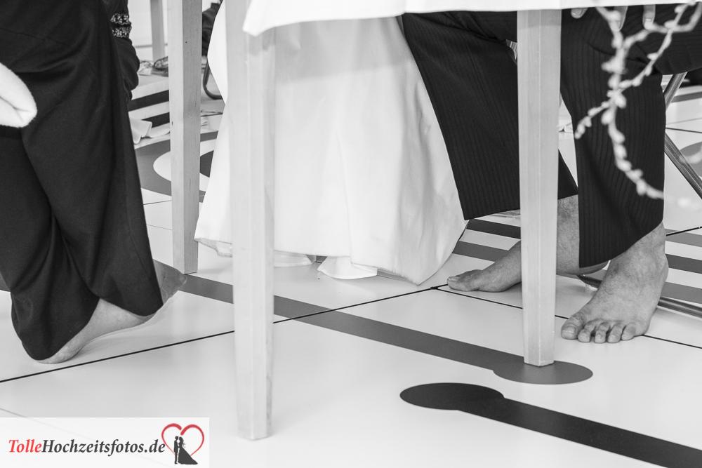 Hochzeit im Yogastudio alle waren barfuß oder auf Socken