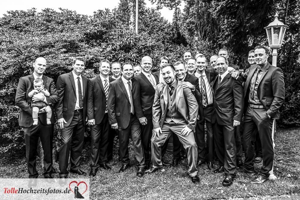 Die Männer auf der Hochzeit